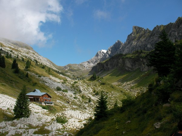self guided walking holiday in alps france